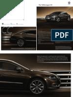 Volkswagen Cc Fl Brochure