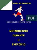 Metabolismo e Exercicio