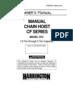 CF4 Owners Manual