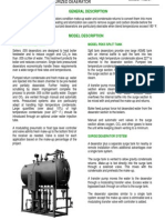 Pressurized Deaerator Specifications