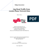 Inferring Road Traffic from Mobile Phone Network Data