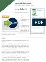 Cómo Aprovechar La Ley De Pareto (80_20) _ Desarrollo Personal.pdf