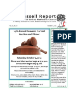This month at Russell (October 2014)