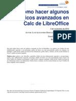 Como Hacer Algunos Gráficos Avanzados en Calc de LibreOffice