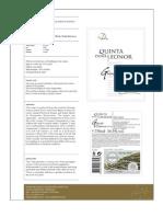 Quinta Dona Leonor Grande Reserva 2009 - Technical Sheet