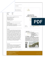 Quinta Dona Leonor Reserva 2011 - Technical Sheet