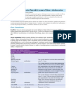 Guía de Medicamentos Psiquiátricos Para Niños y Adolescentes