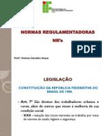 Aula Info - NRs