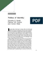 Social Lens - Politics of Identity