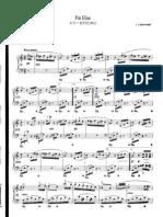 Beethoven - Per Elisa