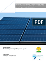 Pv Installation Guidelines