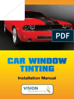 Car Tinting Manual