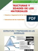 Estructuras y propiedades de los materiales