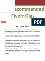 Top Recommended Fiverr Gigs