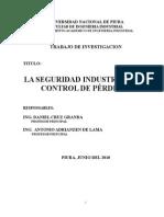 Seguridad Industrial y Control de Pérdidas
