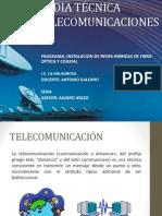 Media Técnica Telecomunicaciones 2015