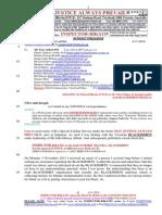 20141104-G. H. Schorel-Hlavka O.W.B. to Mr Clive Palmer & Jacqui Lambie- Re Arab BLACKSHIRTS-JIHAD Etc