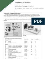Assembling a Code-Practice Oscillator
