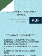 Guia Para Emitir Factura Virtual