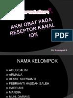 Aksi Obat Pada Reseptor Kanal Ion