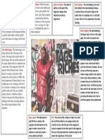 Task 1c - Analyse the Double Page Spread of NME (Dizzee Rascal Edition)