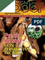 PODER AGROPECUARIO - AGRICULTURA - N 6 - OCTUBRE 2011 - PARAGUAY - PORTALGUARANI