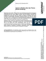 """Presseerklärung vom 02.11.2014  Greenpeace informierte in Weiden über das Thema """"giftfreie Kleidung"""".pdf"""