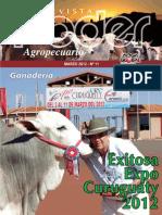 PODER AGROPECUARIO - GANADERIA - N 11 - MARZO 2012 - PARAGUAY - PORTALGUARANI