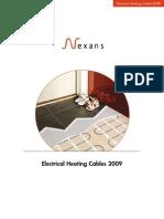 Cables Calefactorescatalogo
