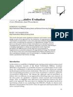 Active Qualitative Evaluation