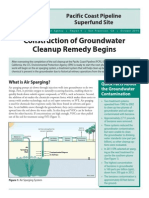"""EPA Pacific Coast Pipeline Superfund Factsheet, """"Construction of Groundwater Cleanup Remedy to Begin,"""" October 2014"""