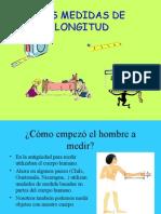 Medidas de longitud 3º