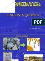 Nomenclatura y Funciones Químicas