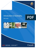 Introduction to Dosimetry