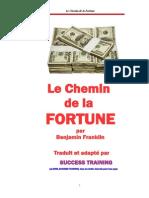 Le Chemin de La Fortune -- Benjamin FRANKLIN