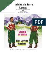 Tião Carreiro e Pardinho - Letras - 03 - Casinha Da Serra - 1963