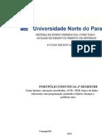 Portfolio Individual 3º Semestre Analise de Sistemas Unopar Adson Jose Honori de Melo
