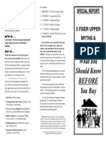5 fixer upper myths