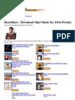Download Mp3 Music by Elvis Presley
