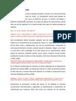 Prevalencia de delitos sexuales en Latinamerica