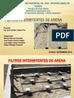 FILTROS INTERMITENTES DE ARENA