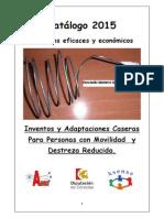 Catálogo Asense 2015 Inventos y Adaptaciones. Corregido y terminado