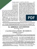 Augustinus, De Catechizandis Rudibus, MLT
