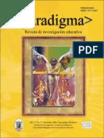 Paradigma Revista de Investigacion Educativa 8