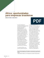 Africa - Oportunidades Para Empresas Brasileiras _Revista Brasileira de Comercio Exterior