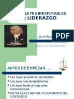 04 las 21 leyes irrefutables de liderazgo.ppt