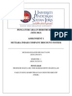 Tugasan MTS3013 Pengaturcaraan Berstruktur