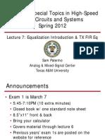 Lecture7 Ee689 Eq Intro Txeq