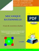 MECANIQUErationnelle kadi ali.pdf