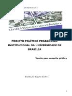 Projeto Político Pedagógico Institucional da Universidade de Brasília